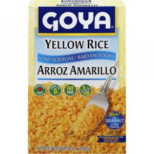 Goya Low Sodium Yellow Rice