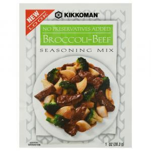 Kikkoman Broccoli & Beef Stir-Fry Mix