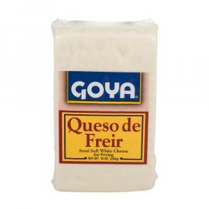 Goya Queso De Freir Semi Soft White Cheese for Frying