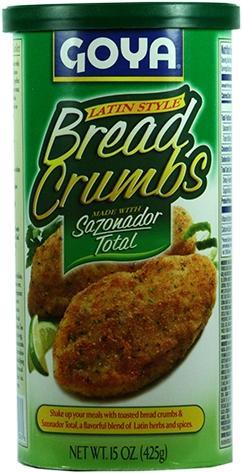 Goya Pan Rallado Bread Crumbs