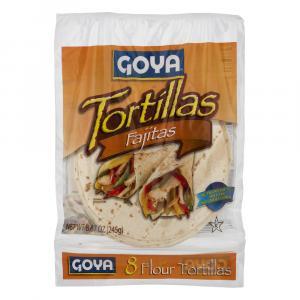Goya Fajita Flour Tortillas