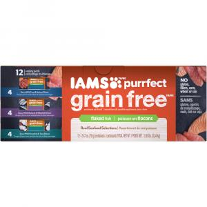 Iams Purrfect Grain Free Cat Food Variety Pack