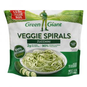 Green Giant Veggie Spirals Zucchini Value Size