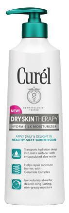 Curel Dry Skin Therapy Hydra Silk Moisturizer