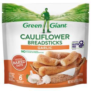 Green Giant Cauliflower Breadsticks Garlic