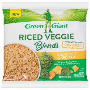 Green Giant Riced Veggie Blends Broccoli Cheddar