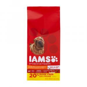 Iams Lamb & Rice Dog Food