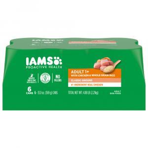 Iams Chicken & Rice Entree Dog Food