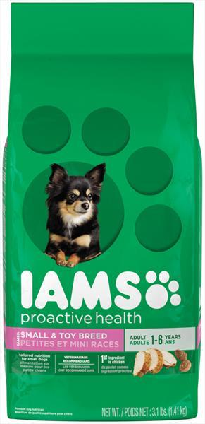 Iams Healthy Natural Small Toy Dog Food
