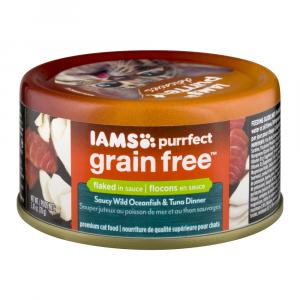 Iams Cat Grain Free Wild Ocean Fish And Tuna