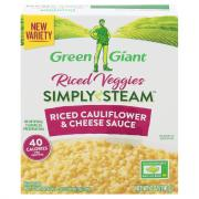 Green Giant Simply Steam Riced Cauliflower & Cheese Sauce