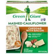 Green Giant Mashed Cauliflower Cheddar & Bacon