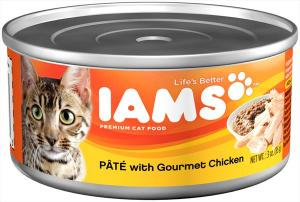 Iams Premium Pate W/gourmet Chicken Cat Food