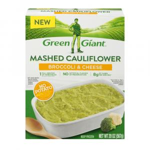 Green Giant Mashed Cauliflower Broccoli & Cheese