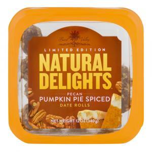 Pecan Pumpkin Pie Spiced Date Roll