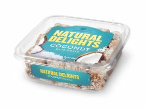 Bard Valley Natural Delights Lemon Coconut Date Rolls