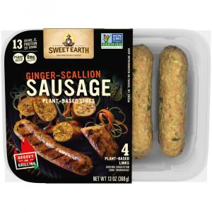 Sweet Earth Ginger Scallion Sausage
