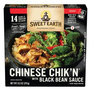 Sweet Earth Chinese Chik'n with Black Bean Sauce