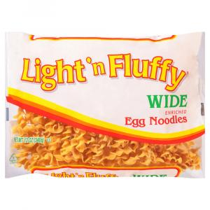 Light 'N Fluffy Wide Noodles
