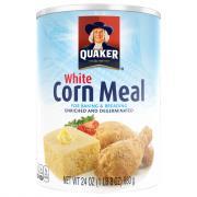 Quaker White Corn Meal