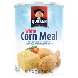 Quaker White Corn Meal
