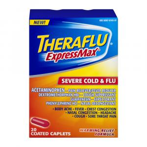 Theraflu Express Max Severe Cold & Flu Caplets