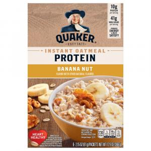 Quaker Instant Oatmeal Protein Banana Nut