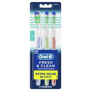 Oral-B Fresh & Clean Soft Toothbrushes
