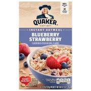Quaker Instant Oatmeal Blueberry & Strawberry