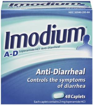 Imodium A-d Mint Flavored Tablets