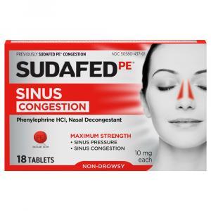 Sudafed PE Congestion Tablets