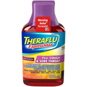 Theraflu Expressmax Berry Flavor Flu, Cough & Sore Throat
