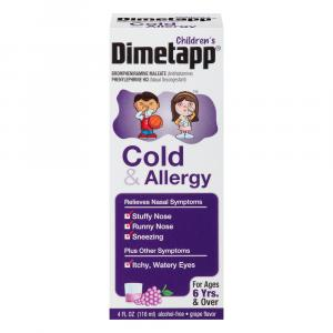 Dimetapp Cold and Allergy