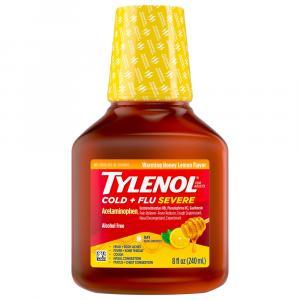 Tylenol Cough & Congestion Honey Lemon Liquid
