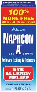 Alcon Naphcon-A Bonus Eye Drops