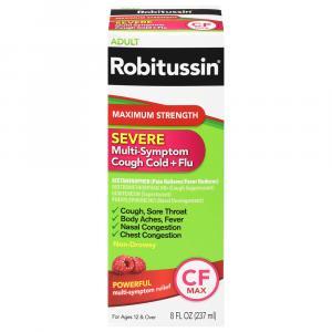 Robitussin CF Max Multi-Symptom
