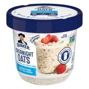 Quaker Overnight Oats Unsweetened with Chia Seeds