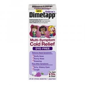 Dimetapp Children's Dye-Free Multi-Symptom Cold Relief