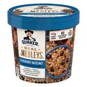 Quaker Real Medleys Blueberry Hazelnut Oatmeal