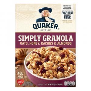 Quaker Simply Granola with Oats, Honey, Raisins & Almonds
