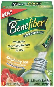 Benefiber Raspberry Iced Tea Stick Pack