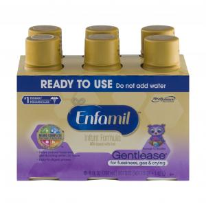 Enfamil Gentlease Ready to Use Infant Formula