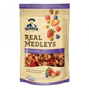 Quaker Real Medley Summer Berry Granola