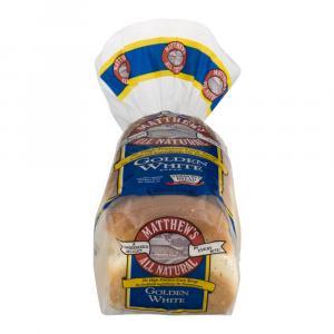 Matthew's Golden White Bread