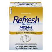 Refresh Optive Mega-3 Eye Drops