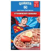 Quaker Strawberry Banana Instant Oatmeal