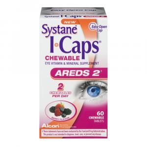 Systane Eye Caps Areds 2 Chewables Berry