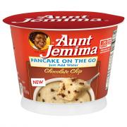 Aunt Jemima Pancake on the Go Chocolate Chip Pancake Mix Cup