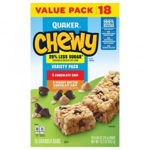 Quaker Chewy Reduced Sugar Granola Bars