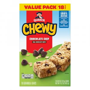 Quaker Chewy Chocolate Chip Granola Bar